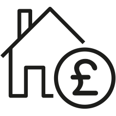 Apply for housing benefit icon in .png format