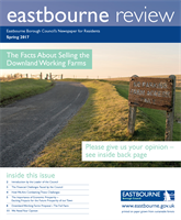 Eastbourne Review Spring 2017 front cover