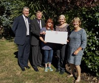 Image of Council donates to local Samaritans