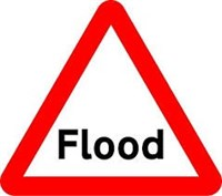 Flood road sign jpeg