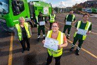 Chair celebrates unsung heroes at Robinson Road depot
