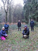 Councillors visit the Lost Woods project