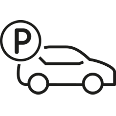 Parking icon in .png format